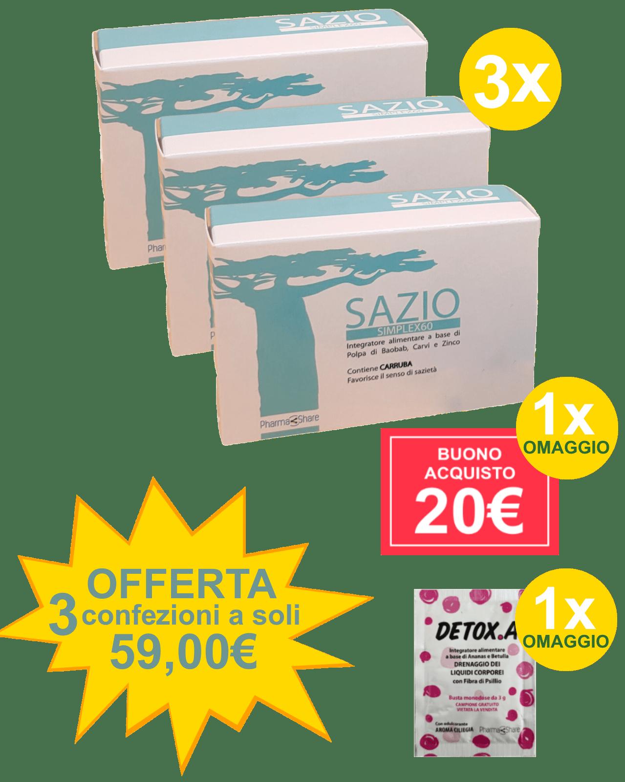 Sazio Simplex 60 3x1