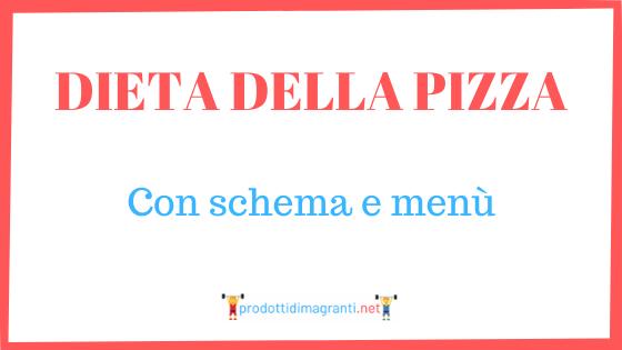 Dieta della pizza