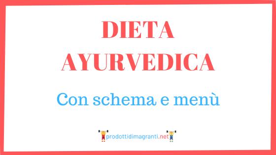 Dieta ayurvedica