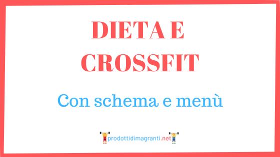 Dieta e Crossfit
