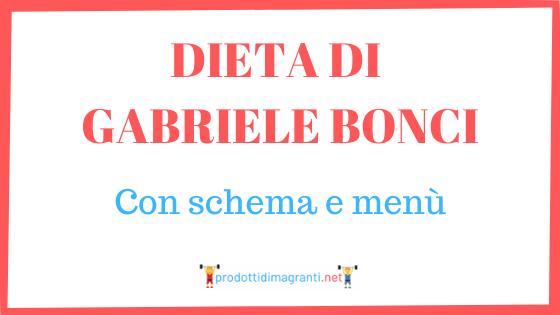 La dieta di Gabriele Bonci