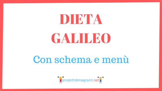 Dieta Galileo
