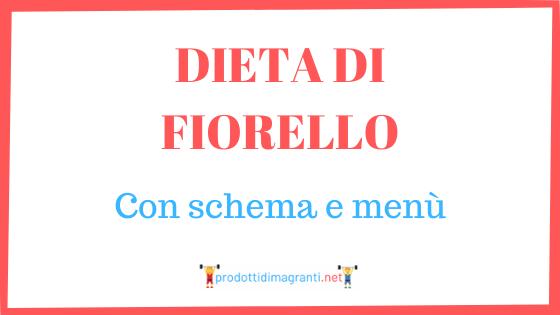 dieta di Fiorello